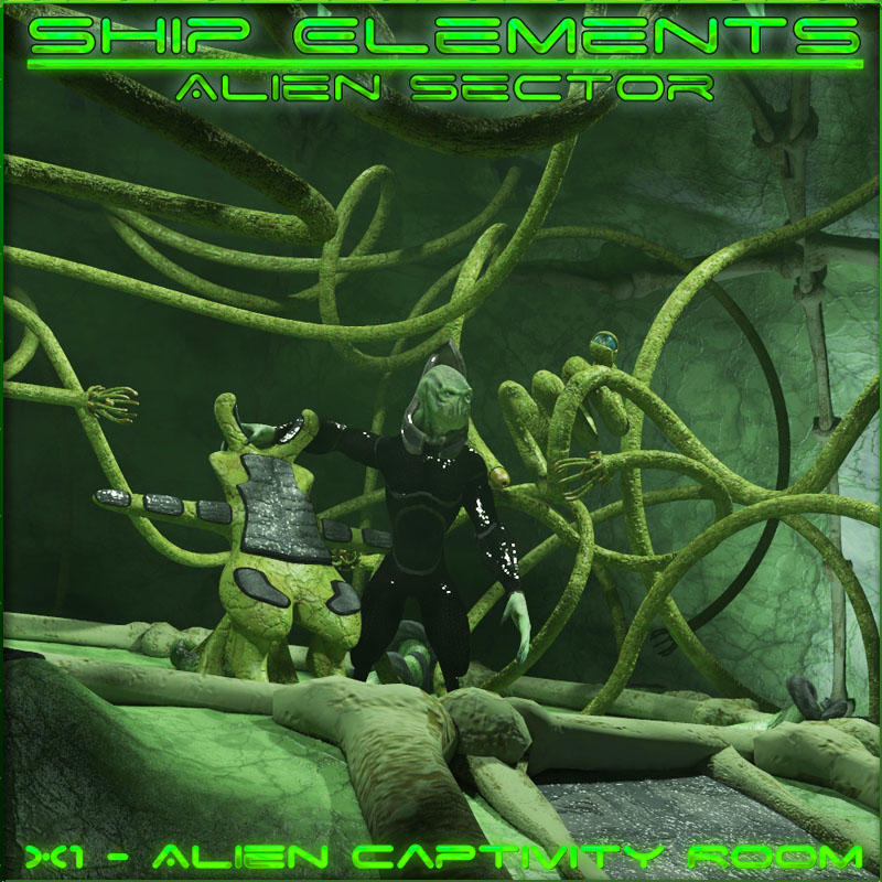 Ship Elements X1: Alien Captivity Room