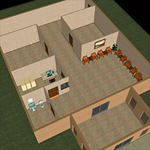 The Reception Room 3D Models Richabri