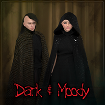 Dark & Moody for Dynamic Cloak Clothing Frequency