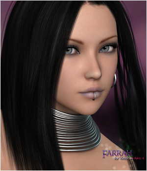 P3D Farrah 3D Figure Essentials P3Design