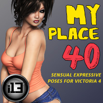 i13 My Place Software Poses/Expressions Themed ironman13