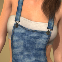 Sexy Overalls for Genesis 2 Female(s) image 1