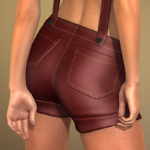 Sexy Overalls for Genesis 2 Female(s) image 5