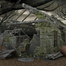 Derelict Buildings (for Poser) image 1