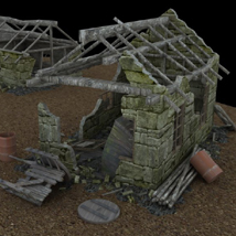 Derelict Buildings (for Poser) image 2