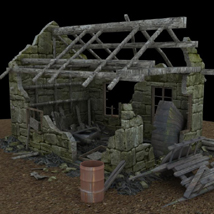 Derelict Buildings (for Poser) image 3