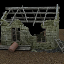 Derelict Buildings (for Poser) image 4