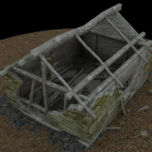 Derelict Buildings (for Poser) image 7