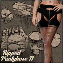 PB - Ripped Pantyhose II 2D And/Or Merchant Resources Atenais