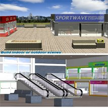 Shopping Mall Construction Set image 1