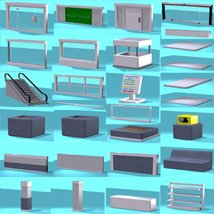 Shopping Mall Construction Set image 2