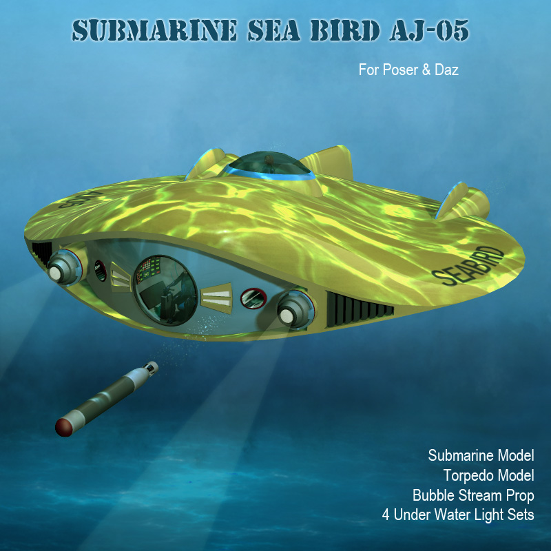 Submarine Sea Bird AJ05