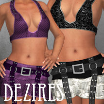 DEZIRES for Punk Me 3D Figure Assets ANG3L_R3D