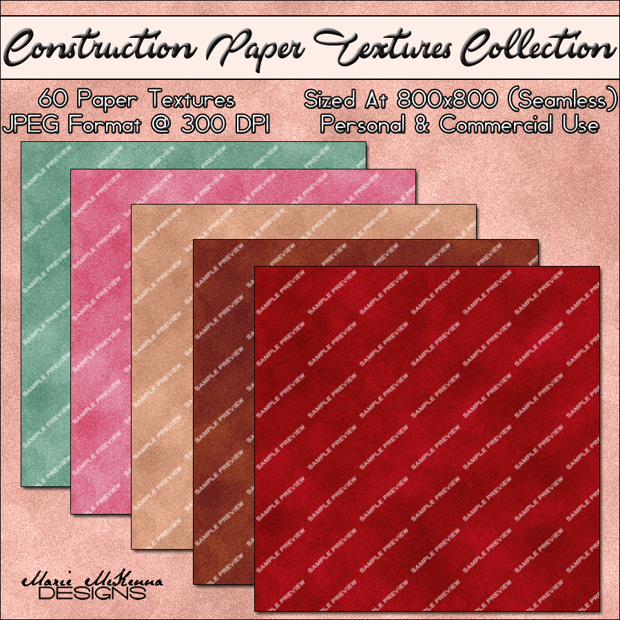 Construction Paper Stock
