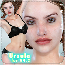 Urzula for V4.2 3D Figure Essentials _Fenrissa_