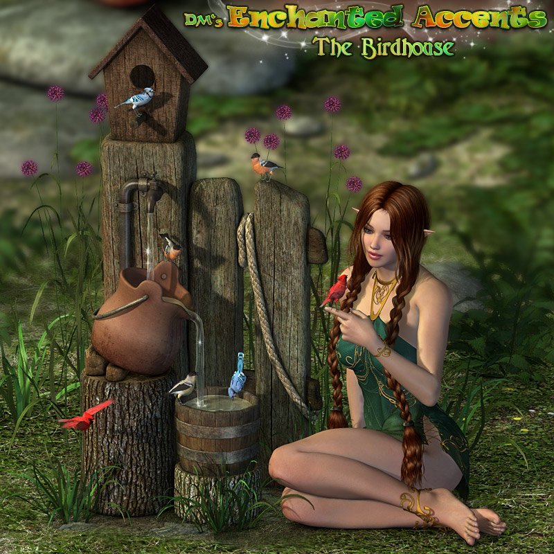 DM's Enchanted Accents - Birdhouse