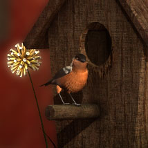 DMs Enchanted Accents - Birdhouse image 2