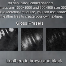 Rugged Leather Shaders DS image 4