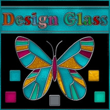 Design Glass: Stained Glass Styles Kit 2D 3D Models fractalartist01