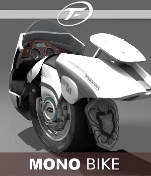Mono Bike 3D Models TruForm