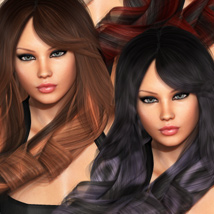 Ariana Hair and OOT Hairblending image 2