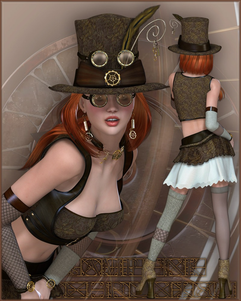 Steampunk - Anachronism V4/A4/G4/Elite by kaleya