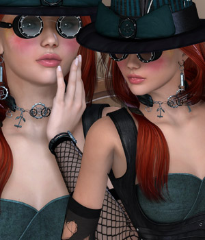 Steampunk - Anachronism V4/A4/G4/Elite Clothing Themed Accessories Software kaleya