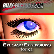 K4 Eyelash Extensions 3D Figure Essentials billy-t
