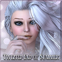 Twizted End of Summer Hair 3D Figure Assets TwiztedMetal