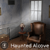 i13 Haunted Alcove 3D Models Software ironman13