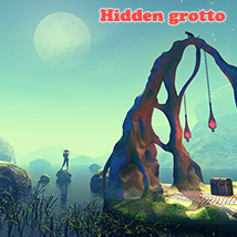Hidden grotto 3D Models 1971s
