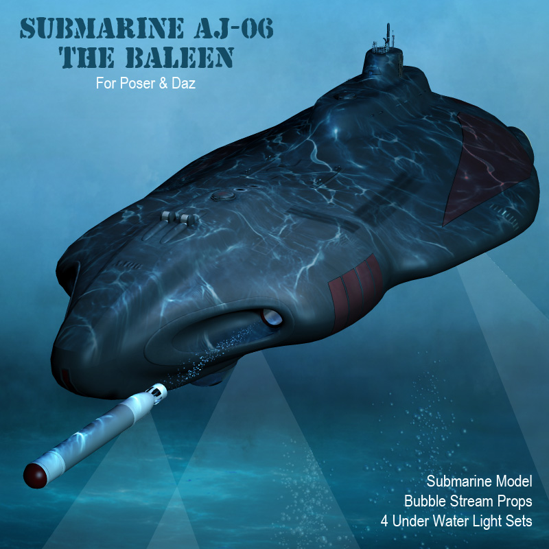 Submarine The Baleen AJ06