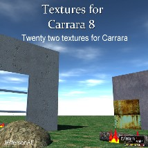 Textures for Carrara 8 3D Figure Essentials JeffersonAF