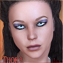 Thora 3D Figure Essentials TwiztedMetal