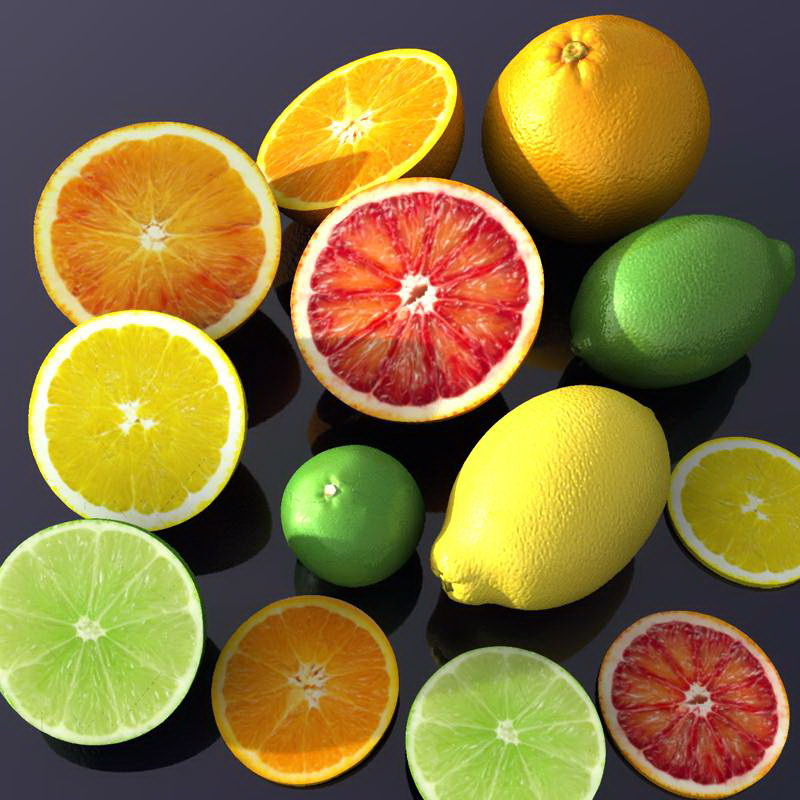 Juicy citrus fruit pack