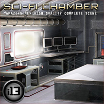i13 SCI-FI CHAMBER Props/Scenes/Architecture Software Themed ironman13