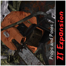 ZT Expansion Poses/Expressions Props/Scenes/Architecture Themed Software halcyone