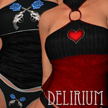 Delirium for Sensibility Clothing ANG3L_R3D