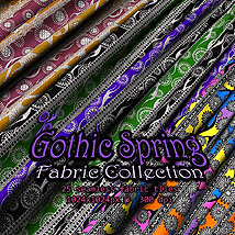 Gothic Spring Fabric Collection 2D RajRaja