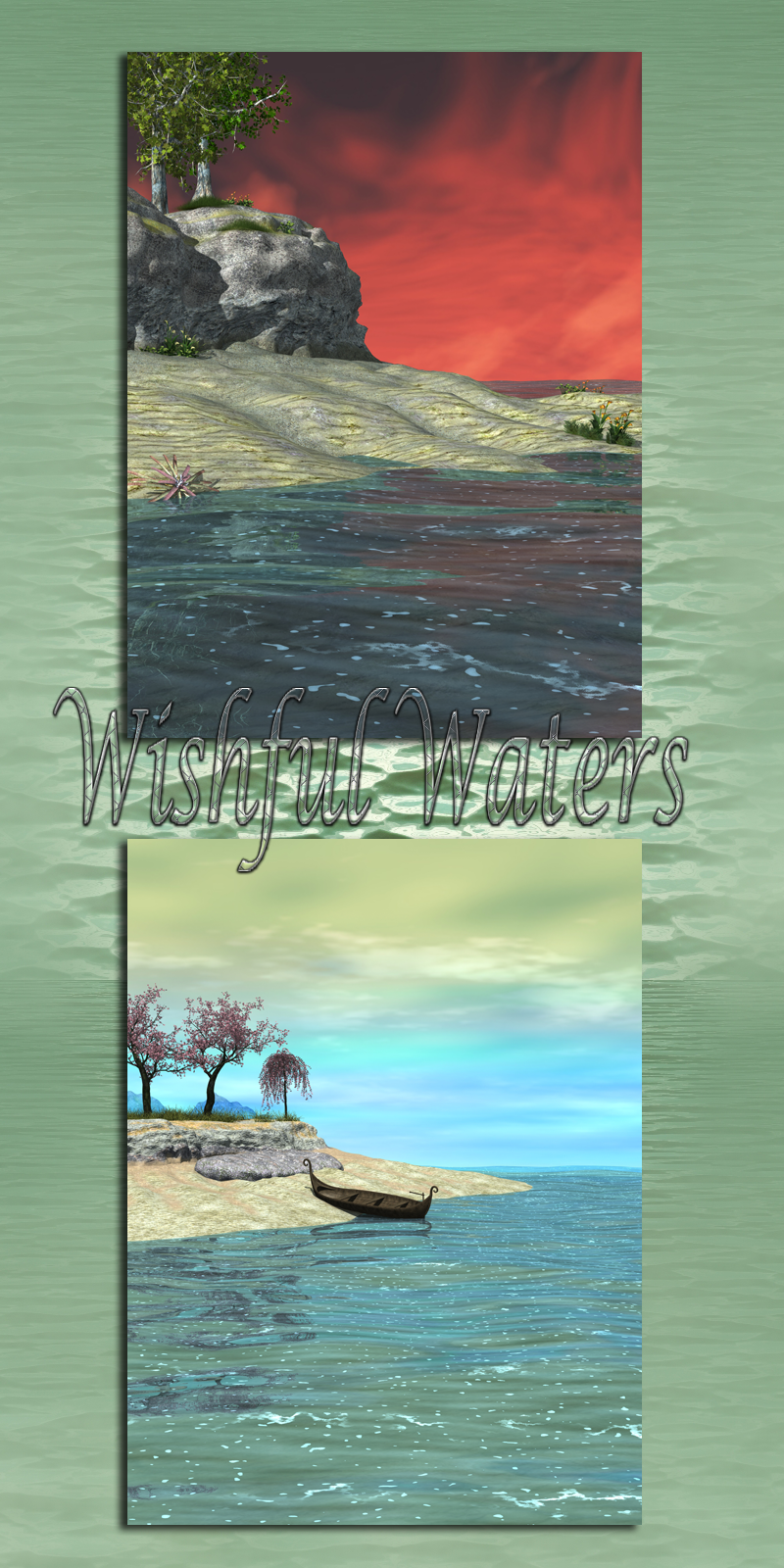 Wishful Waters Backgrounds Landscape And Portrait