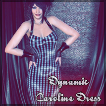 Dynamic Caroline Dress 3D Figure Essentials SynfulMindz