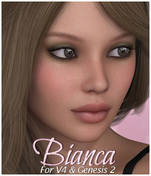SASE Bianca for V4 and Genesis 2 3D Figure Essentials Sabby