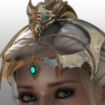 Finishing Touches: Headpieces Volume 5 3D Figure Assets ryverthorn