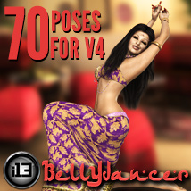 i13 Bellydancer 3D Models 3D Figure Essentials ironman13