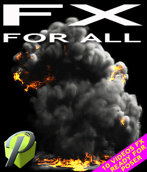 FX for All 3D Models 2D powerage