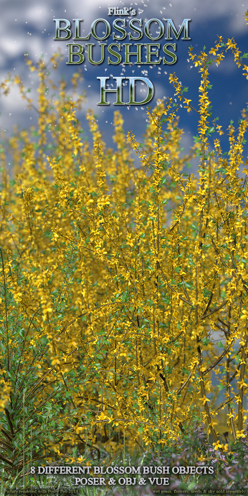 Flinks Blossom Bushes HD