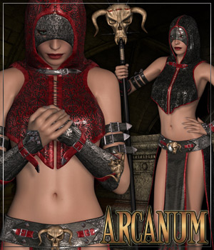 ARCANUM for Darkling Character and Outfit 3D Figure Essentials Anagord
