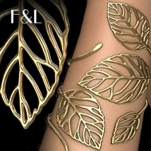 LeafLife Jewels 3D Figure Assets fabiana