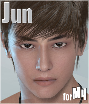 Jun for M4 3D Figure Essentials fu-minn