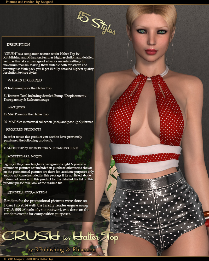CRUSH for Halter TopbyAnagord()